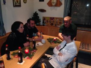 Weihnachtsfeier FG Kalrobia