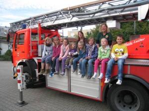 Setzlinge bei der Feuerwehr Bad Mergentheim